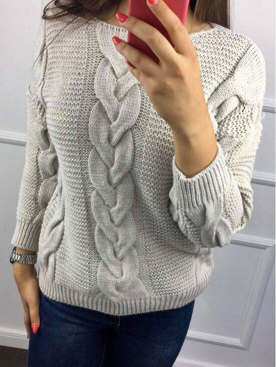 Kötött pulóver FREYA | Starstyle.hu